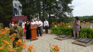 Празднование 75-летия со дня освобождения Бешенковичского района от немецко-фашистских захватчиков